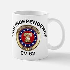 USS Independence CV-62 Mug