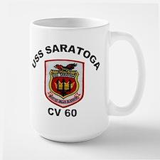 USS Saratoga CV-60 Mug