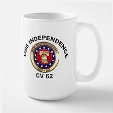 USS Independence CV-62 Large Mug