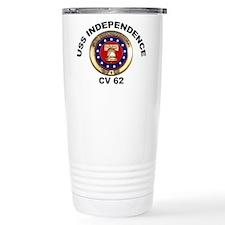 USS Independence CV-62 Travel Mug