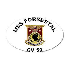 CV-59 Forrestal Wall Decal