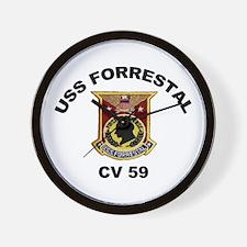 CV-59 Forrestal Wall Clock