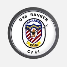 CV-61 Ranger Wall Clock