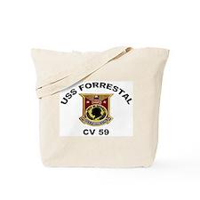 CV-59 Forrestal Tote Bag