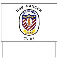 CV-61 Ranger Yard Sign