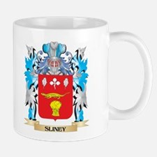 Sliney Coat of Arms - Family Crest Mugs