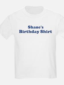 Shane birthday shirt T-Shirt