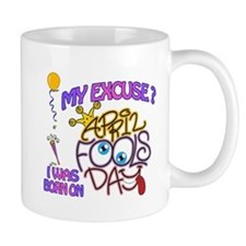 April Fool Birthday Woman Mug