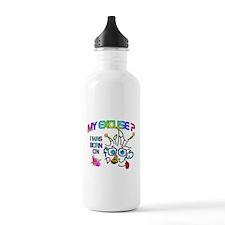 April Fool Birthday Ma Water Bottle