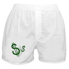 Dollar Sign Boxer Shorts