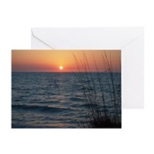 last before the sunset Greeting Card