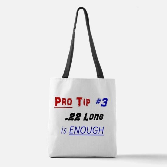 Pro Tip #3 Polyester Tote Bag