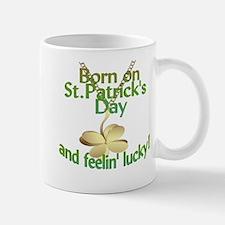 St. Patrick's Day Birthday Charm Mug