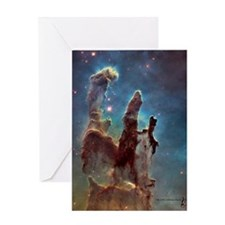 Pillars Of Creation Card Greeting Cards