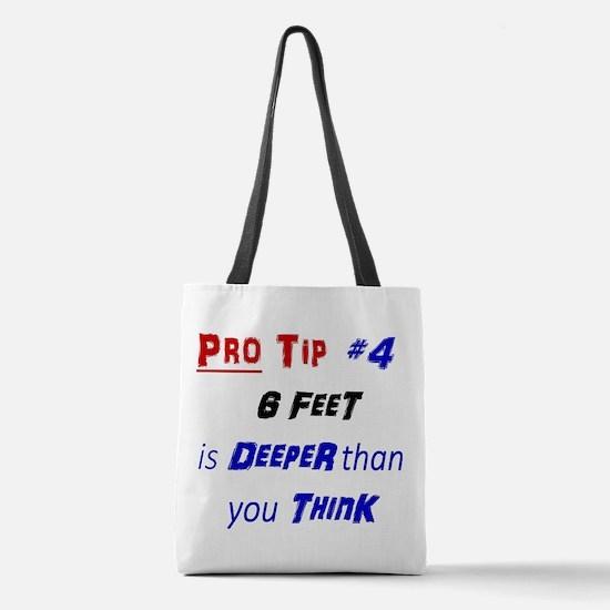 Unique Humour Polyester Tote Bag