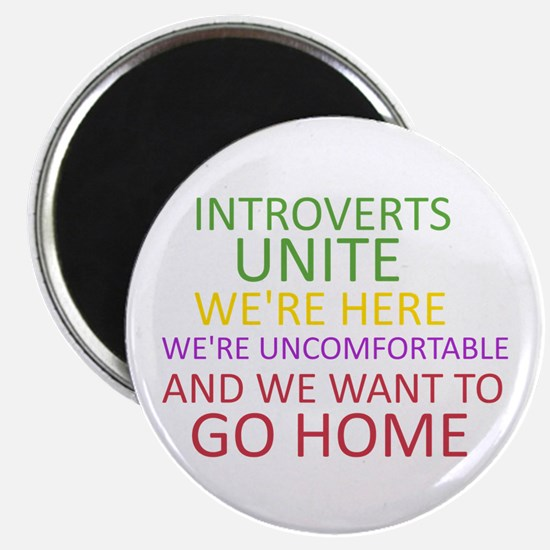 Introverts Magnets