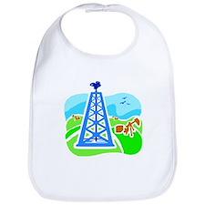 Unique Oil field Bib