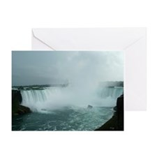 elph Niagara Falls Greeting Card