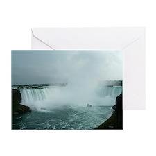 elph Niagara Falls Greeting Card