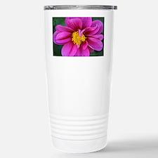 dahlia flower bloom Stainless Steel Travel Mug