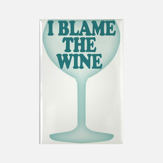 Funny Wine Drinking Humor Rectangle Magnet