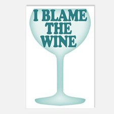 Funny Wine Drinking Humor Postcards (Package of 8)