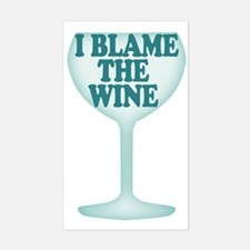 Funny Wine Drinking Humor Decal
