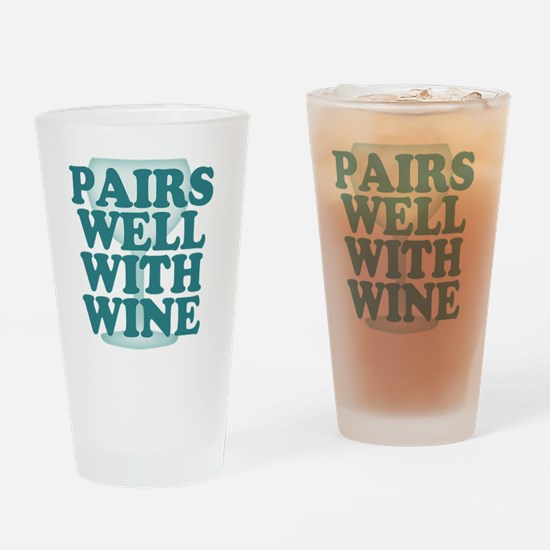 Funny Wine Drinking Humor Drinking Glass