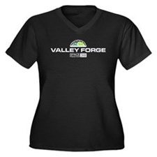 Valley Forge Space Freighter Plus Size T-Shirt