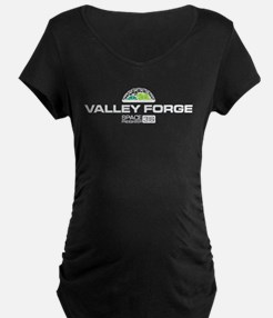 Valley Forge Space Freighter Maternity T-Shirt