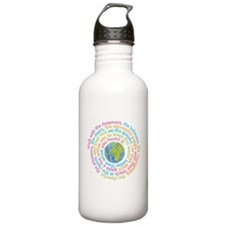 Walk with the dreamers Water Bottle