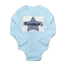 Cute Rosemary Long Sleeve Infant Bodysuit