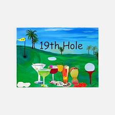 19th Hole Golf 5'x7'Area Rug