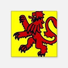 Scottish lion Sticker