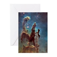 Pillars Of Creation Greeting Cards