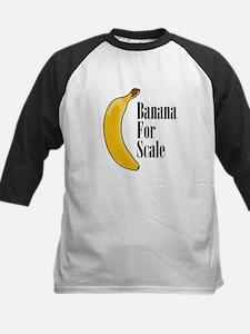 Banana For Scale Baseball Jersey
