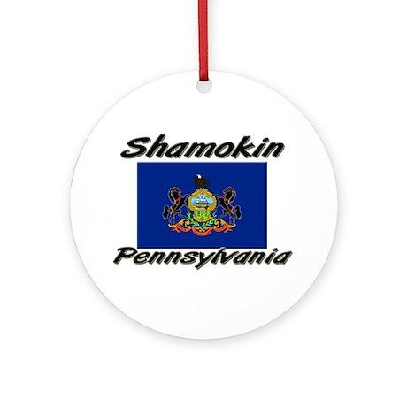 Shamokin Pennsylvania Ornament (Round)
