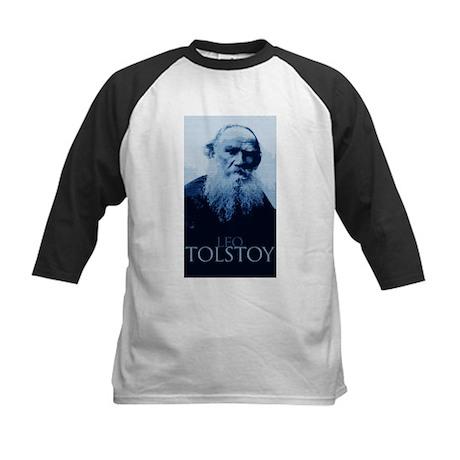 Leo Tolstoy Kids Baseball Jersey