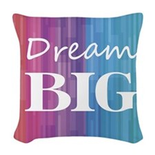 Dream Big Woven Throw Pillow