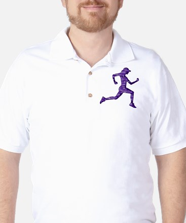 Run Hard Golf Shirt