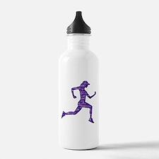 Run Hard Water Bottle