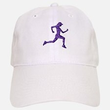 Run Hard Baseball Baseball Cap