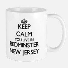 Keep calm you live in Bedminster New Jersey Mugs