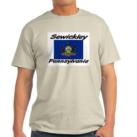 Sewickley Pennsylvania Light T-Shirt