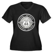 Route 66 states Plus Size T-Shirt