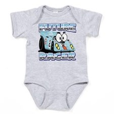 Future Racing Kid Cars Baby Bodysuit