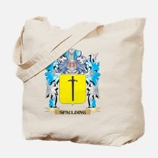Spaulding Coat of Arms - Family Crest Tote Bag