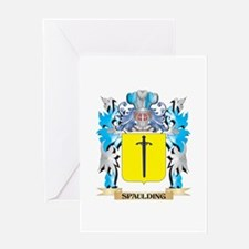 Spaulding Coat of Arms - Family Cre Greeting Cards