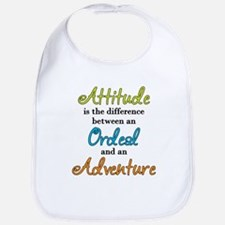 Attitude Quote Bib