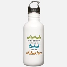Attitude Quote Water Bottle